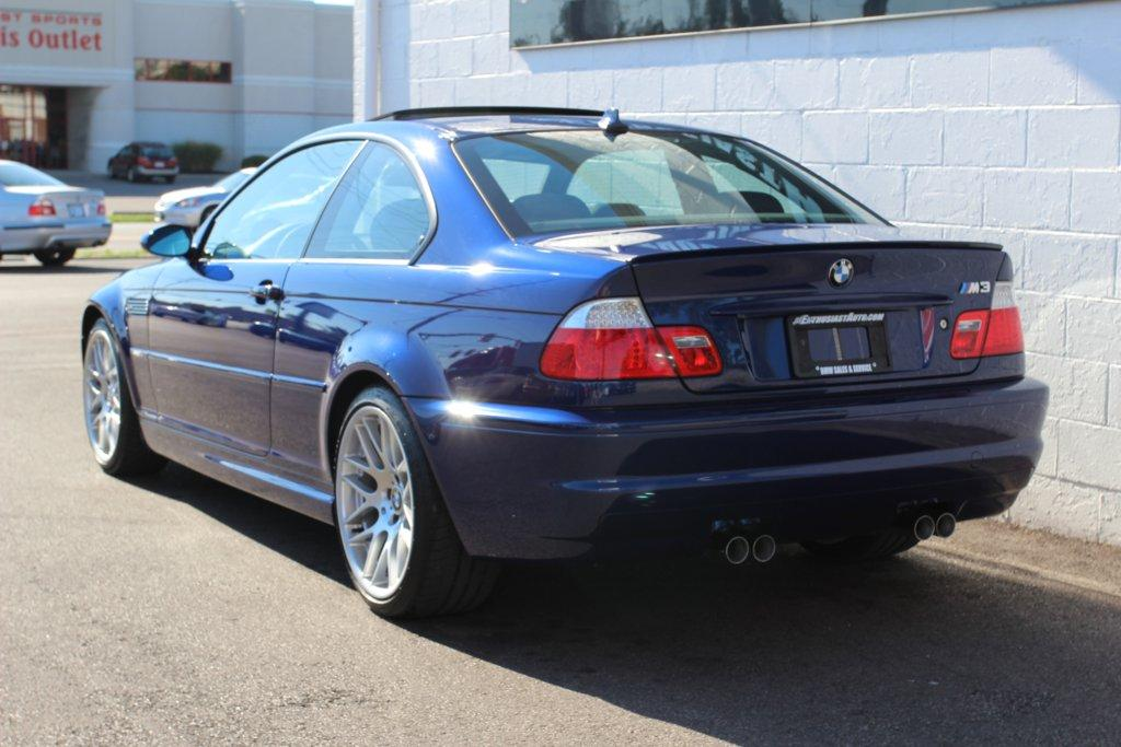PreOwned E46 M3 for sale for sale at Enthusiast Auto