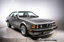 1987 BMW M6 Manual Coupe
