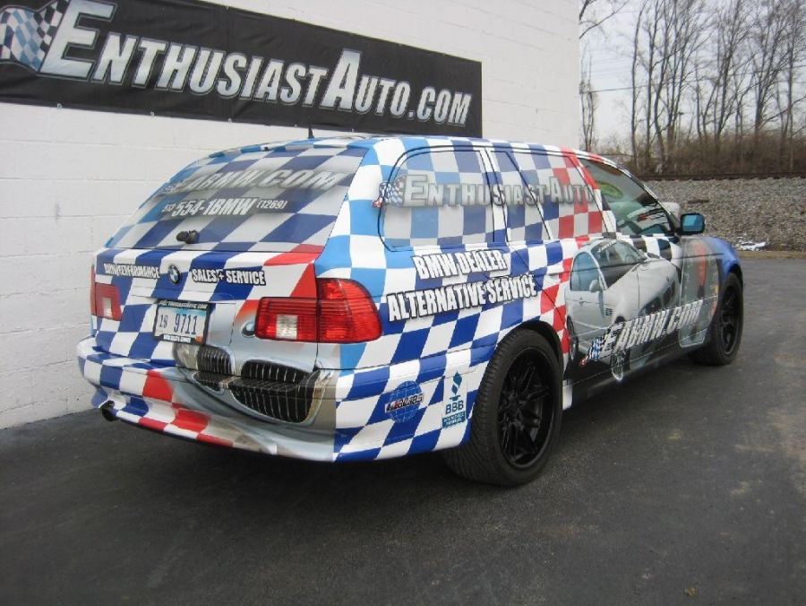 Enthusiast Auto Support Vehicle