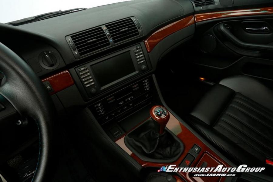 2001 BMW M5 6-Speed